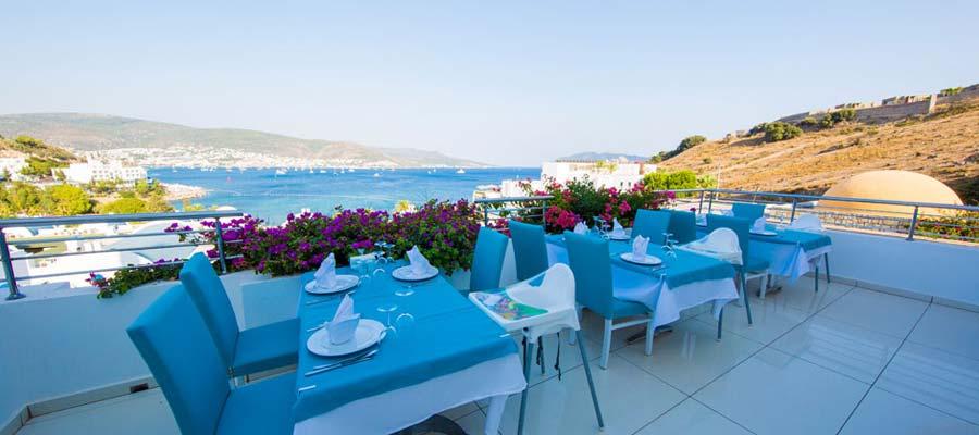Salmakis Bodrum Resort Spa - Restoran