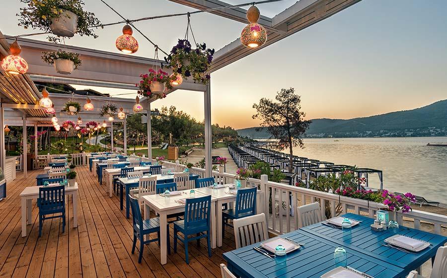 Titanic Deluxe Bodrum Hotel - Restoran