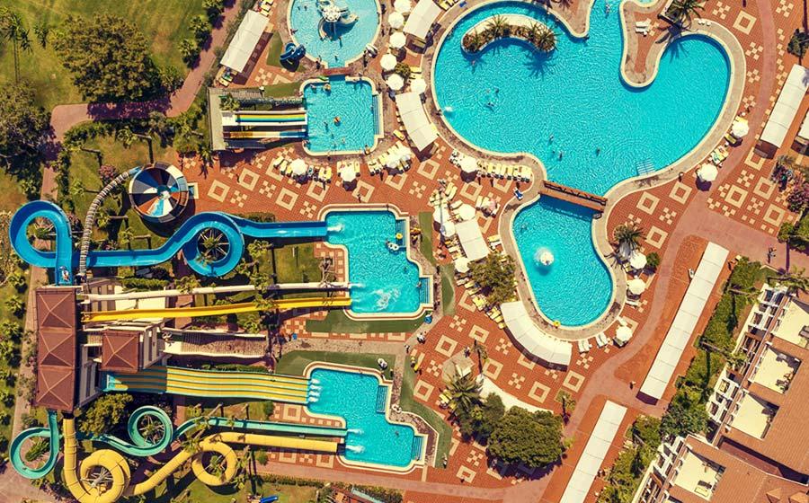 Club Hotel Turan Prince World - Su kaydırağı