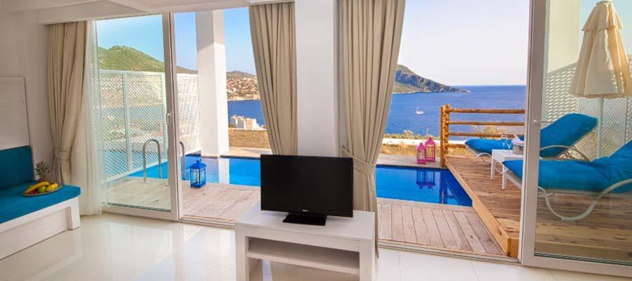 Asfiya Seaview Hotel - Deniz Manzaralı Oda