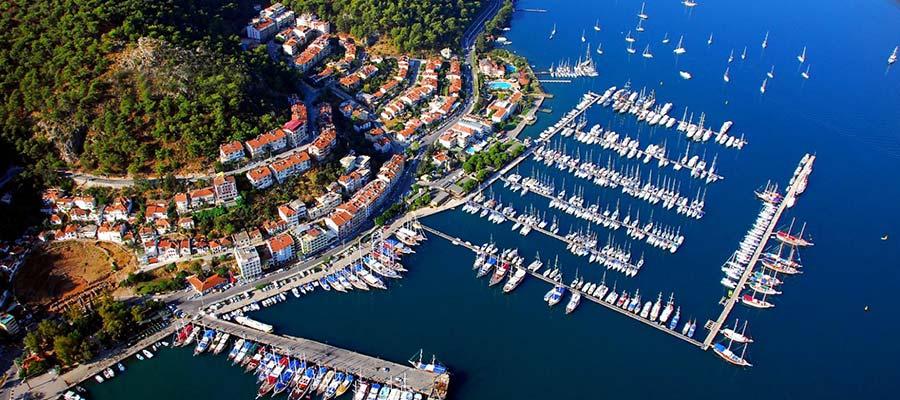 Muğla'nın Görmeniz Gereken Tatil Bölgeleri - Fethiye Limanı