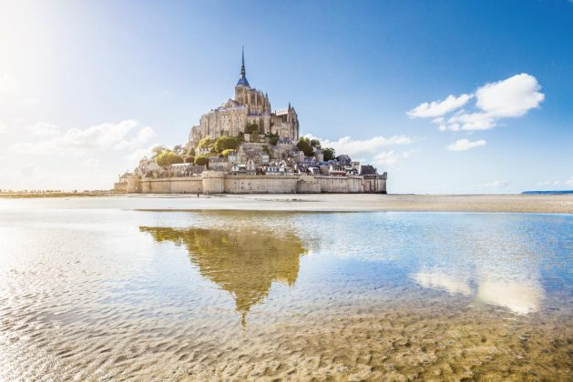 The Mont Saint-Michel (Fransa)