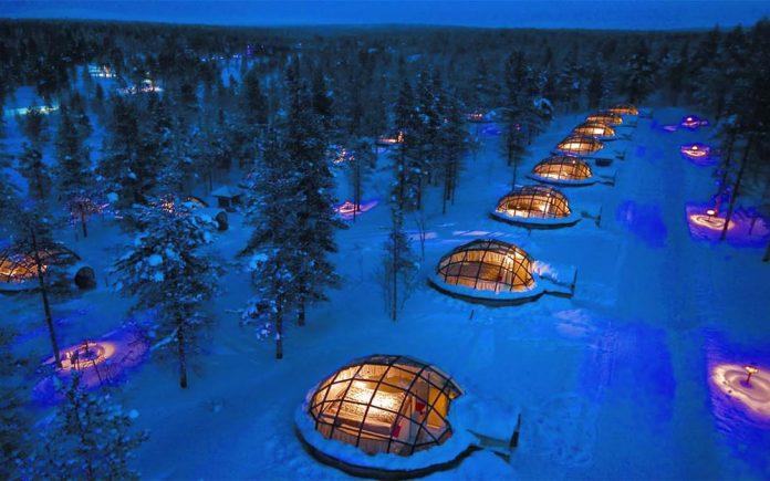 Kakslauttanen Hotel, Saariselkä, Finlandya