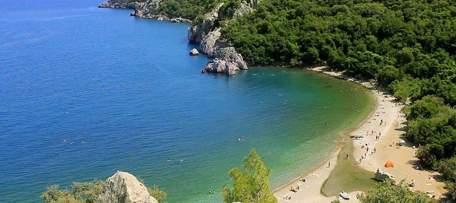 Akdeniz'in En Ünlü Plajları - Olympos 1