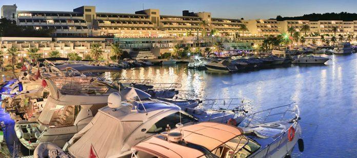 Altın Yunus Resort - Akşam Genel Görünüm