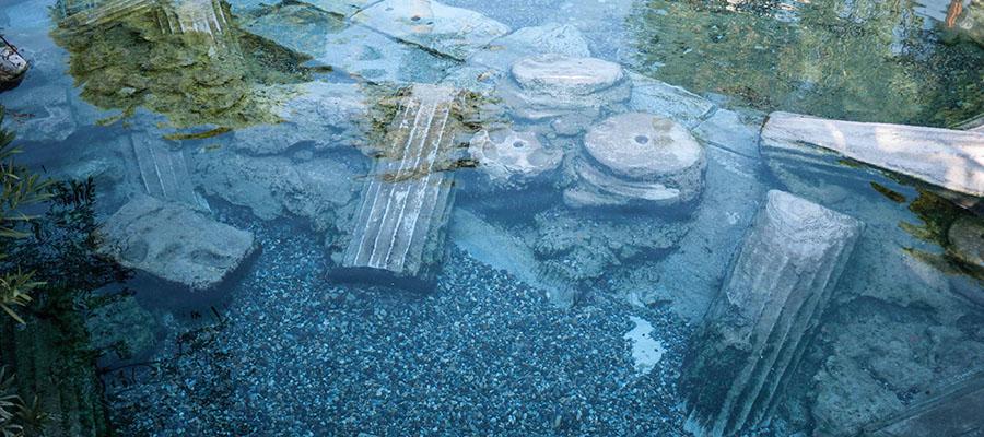 Pamukkale Travertenleri - Antik Havuz 1