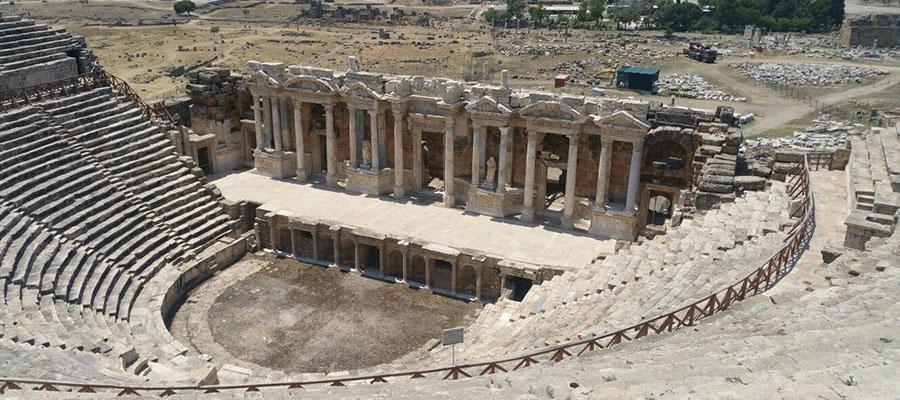 Pamukkale Travertenleri - Antik Şehir