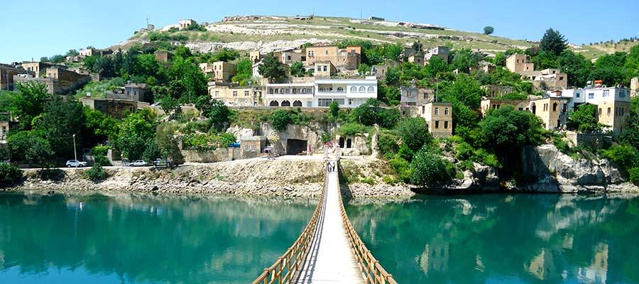 Saklı Cennet Halfeti - Asma Köprü