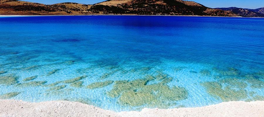 Salda Gölü - Kumsal Manzarası