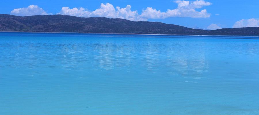Salda Gölü - Dağ Manzarası