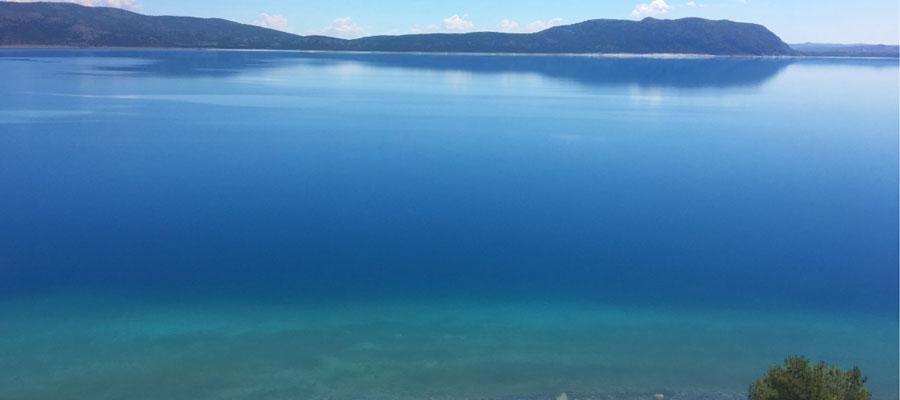 Salda Gölü - Mavinin Tonları