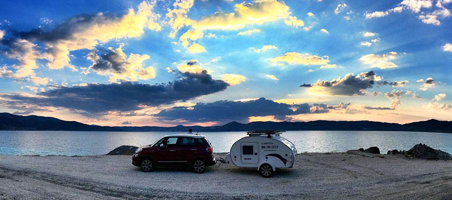 Salda Gölü - Kamp Yerleri