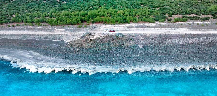Salda Gölü - Maldivler Koyu