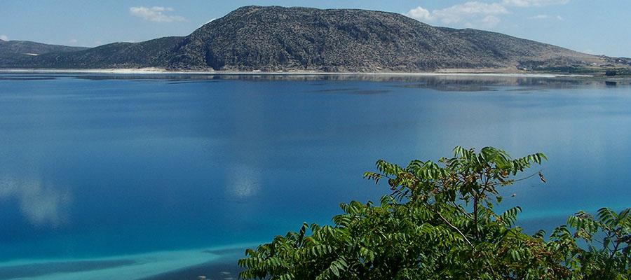 Salda Gölü - Tabiat Parkı Manzarası