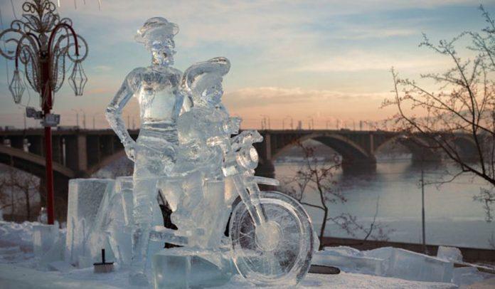 En İyi Buz Festivalleri - Krasnoyarsk Uluslararası Kar ve Buz Festivali