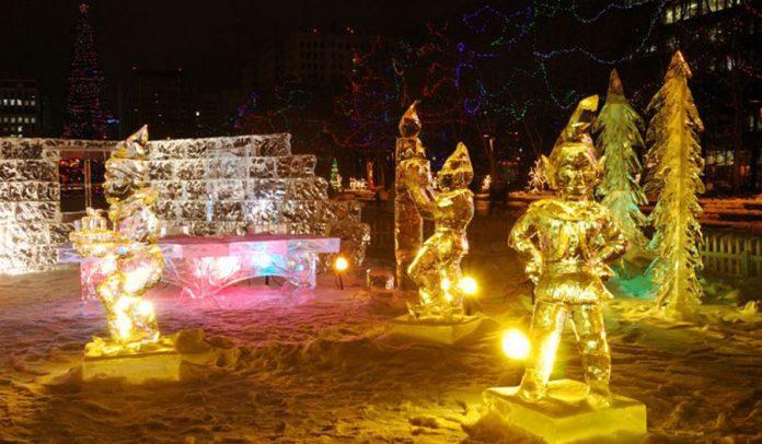 En İyi Buz Festivalleri - Ice on Whyte Festival