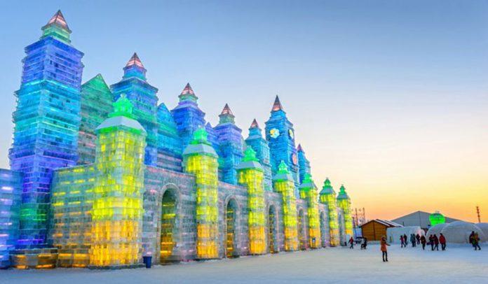 En İyi Buz Festivalleri - Uluslararası Buz ve Kar Heykel Festivali - Harbin