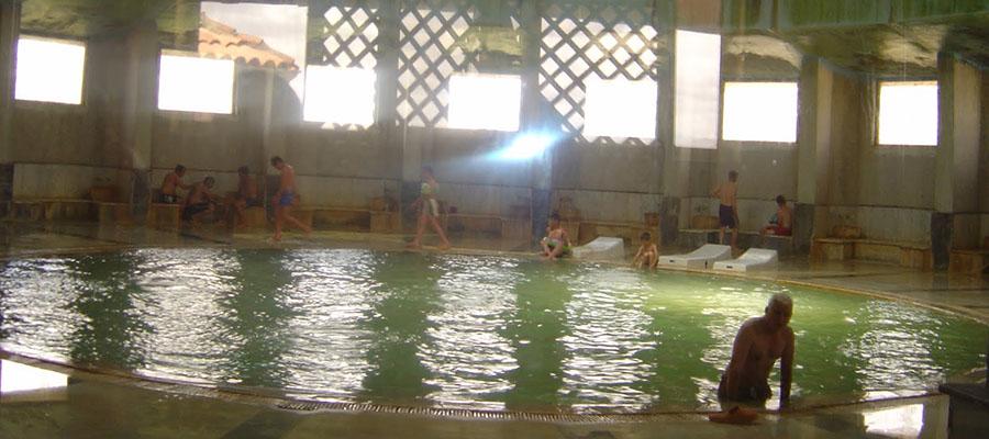 Afyon Kaplıcaları - Heybeli Kaplıcaları - Havuz