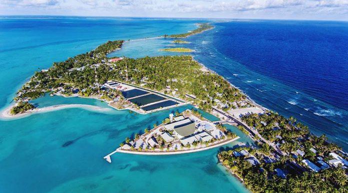 Az Bilinen Tropik Balayı Adaları - Kiribati