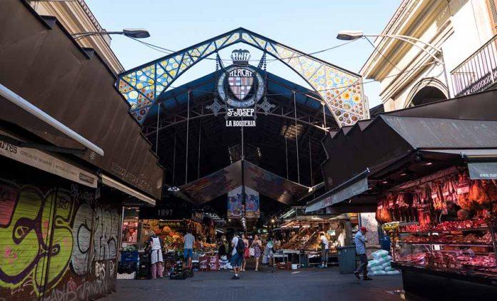 Barcelona Gezi Rehberi - Mercat de La Boqueria