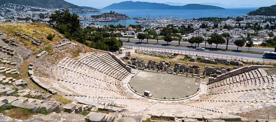 Bodrum Gezi Rehberi - Antik Tiyatro