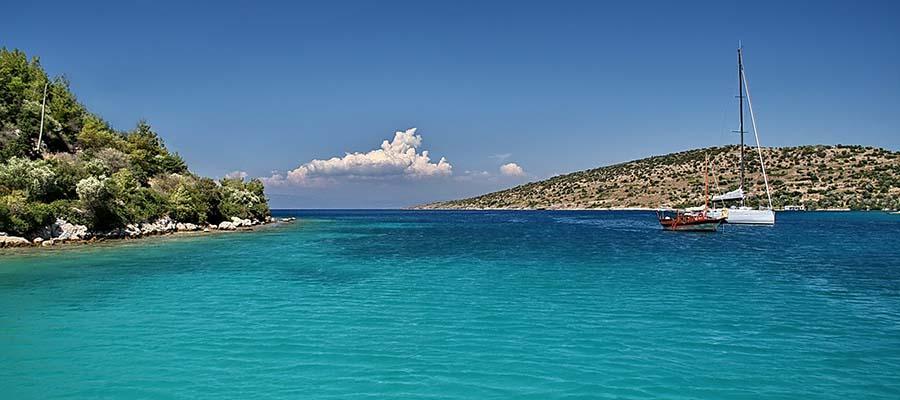Bodrum Gezi Rehberi - Gümüşlük Plajı