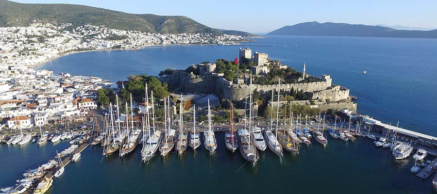 Bodrum Gezi Rehberi - Kale Manzarası
