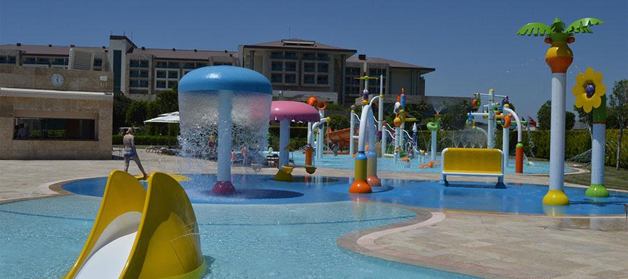 Çocuklu Aileler İçin Türkiye'nin En İyi Otelleri - Aqua Park