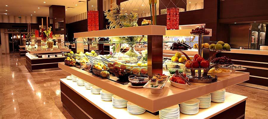 Cratos Hotel Balayı Deneyimi - Açık Büfe - Salatalar