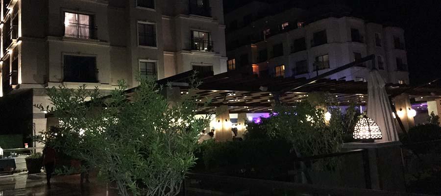 Cratos Hotel Balayı Deneyimi - Teras Bar
