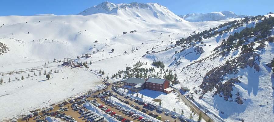 Davraz Kayak Merkezi - Manzara