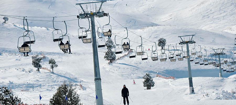 Davraz Kayak Merkezi - Tesisler
