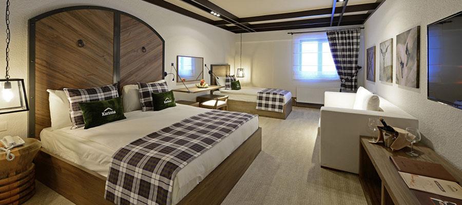 Türkiye'nin En İyi 10 Kayak Oteli - Karinna Hotel Oda