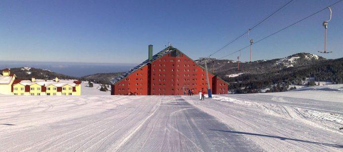 Türkiye'nin En İyi 10 Kayak Oteli - Karinna Hotel Pist