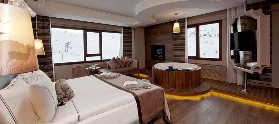 Türkiye'nin En İyi 10 Kayak Oteli - Kaya Palazzo Ski Oda