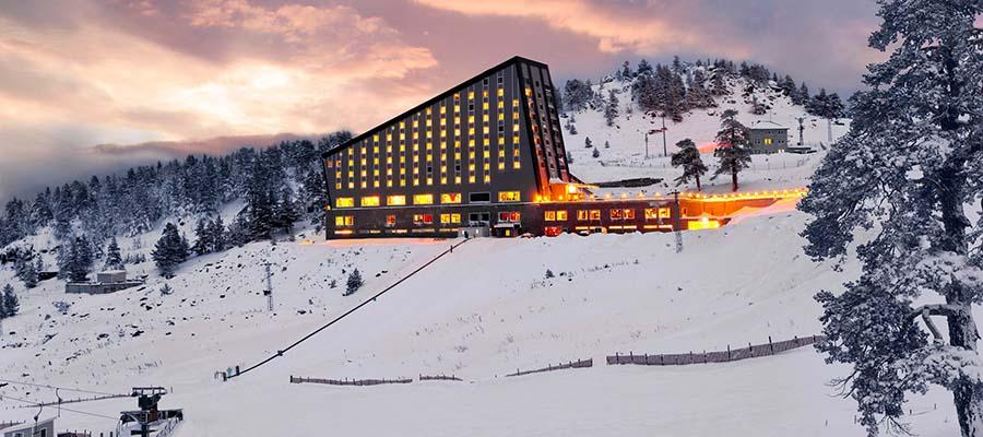 Türkiye'nin En İyi 10 Kayak Oteli - Kaya Palazzo Ski