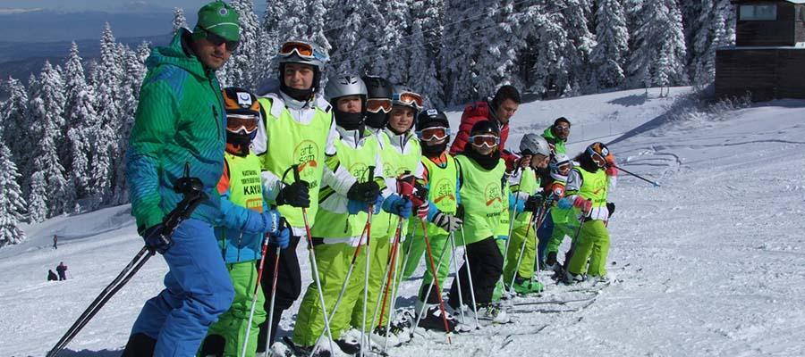 Ilgaz Kayak Merkezi - Yeni Başlayanlar
