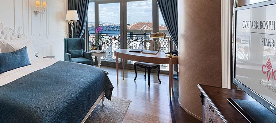 İstanbul Jakuzili Oteller - CVK Park Bosphorus Hotel - Oda