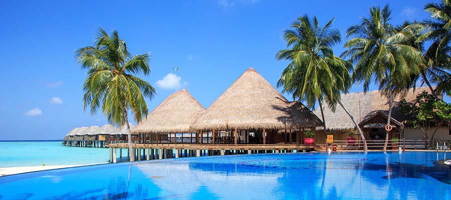 Maldivler'de Rüya Gibi Bir Balayı - Havuz