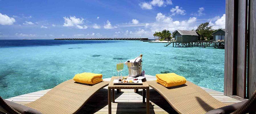 Maldivler'de Rüya Gibi Bir Balayı - Şezlong