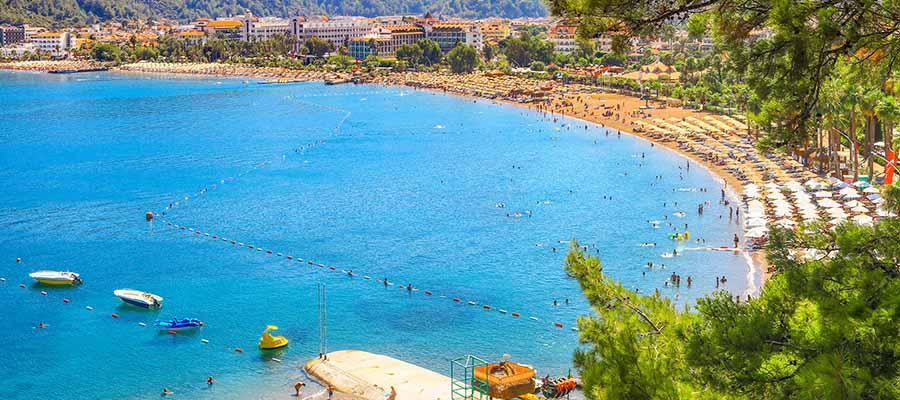 Marmaris Gezi Rehberi - İçmeler Plajı