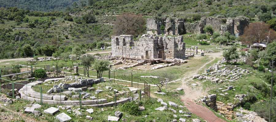 Marmaris Gezi Rehberi - Physkos Antik Kenti