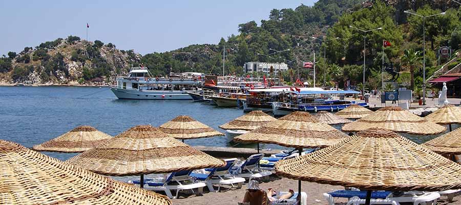 Marmaris Gezi Rehberi - Turunç Plajı
