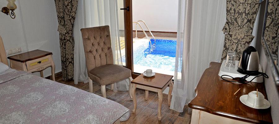 Odadan Havuza Girilebilen En İyi Oteller - Cennet Life - Oda