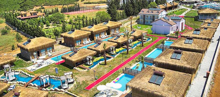 Odadan Havuza Girilebilen En İyi Oteller - Sahra Su Holiday Village