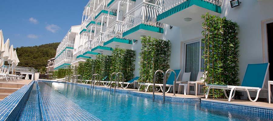 Odadan Havuza Girilebilen En İyi Oteller - Sertil Hotel - Havuz