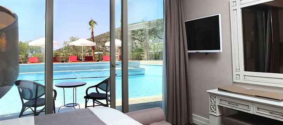 Odadan Havuza Girilebilen En İyi Oteller - Suhan 360 Hotel - Havuz