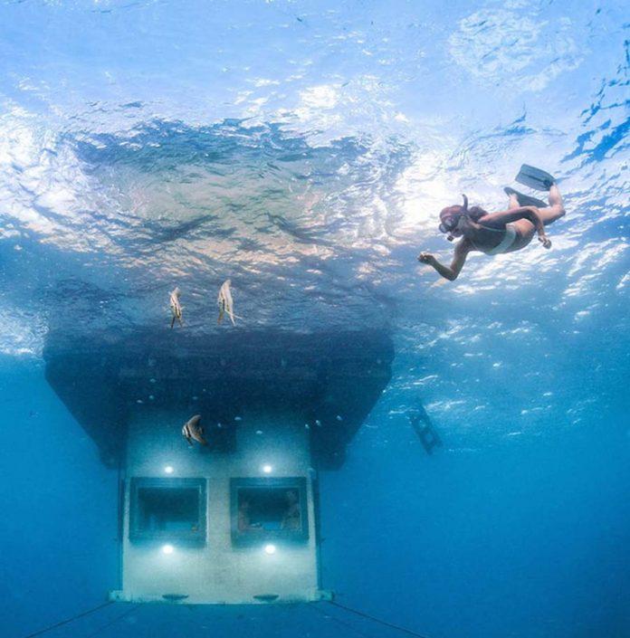 Sualtı Otelleri - Pembe Island