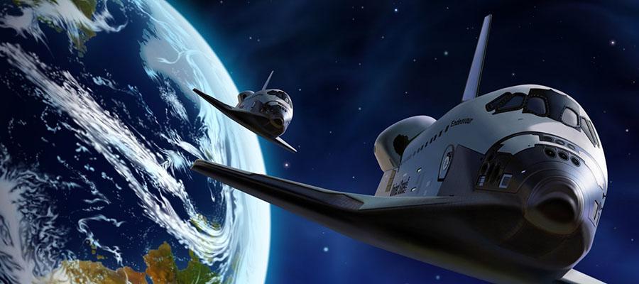 Uzayda 5 Yıldızlı Tatil - Uzay Gemileri