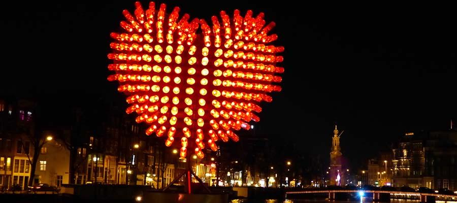 Avrupa'nın En İyi Kış Festivalleri - Amsterdam - Kalp